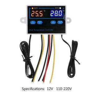Dual Thermostat For Incubator 10a Digital Heating Cooling Temperature Controller
