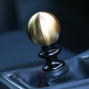 Ssco Brushed Pvd Gold Sr 55mm 610 Grams Weighted Shift Knob Shifter Sphere