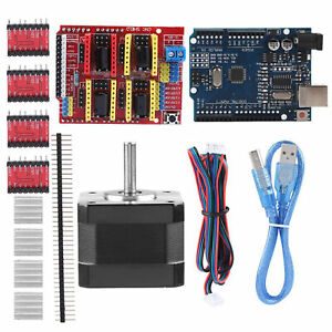 Diy For Arduino Cnc Contoller Kit Cnc Shield V3 Stepper Motors A4988 Driver