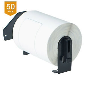 50 Rolls 4 X 6 Dk 1241 Address Tags Labels For Brother Ql 1100 1050 Bpa Free