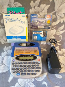 Vintage Brother P touch Label Maker Labeling System