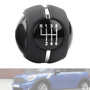 30x 6 Speed Car Manual Gear Shift Knob Shifter Cover For Mini Cooper F55 F5 B8i0