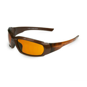 Crossfire Arcus Hd Amber brown Expresso Premium Safety Glasses Sunglasses Z87