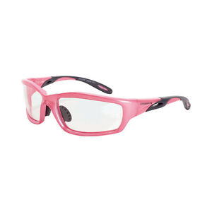 Crossfire Infinity Pearl Pink Clear Lens Safety Glasses Z87 1