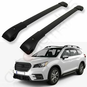 For 2019 2020 Subaru Ascent Roof Top Rail Rack Cross Bar Aluminum Luggage Cargo