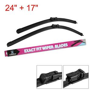 24 17 Front Windshield Wiper Blades For 2010 2016 Chevrolet Equinox