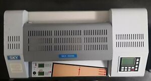 Sky 335r6 Photo Pouch Laminator 13 2in Heated Rollers Laminating Machine No Cord