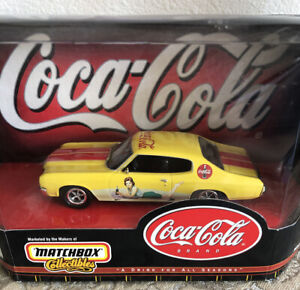 MATCHBOX COLLECTIBLES COCA COLA 1970 CHEVELLE SS 454 CAR #1423 NEW
