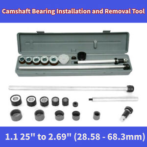Engine Camshaft Cam Bearing Installation Insert And Removal Universal Tool Kit
