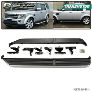 Running Board Side Step Bars For 2005 2016 Land Rover Lr3 Lr4 Discovery 3 4 Door