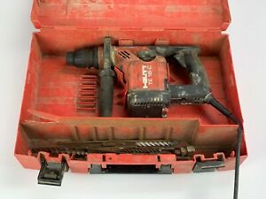Hilti Rotary Hammer Drill Te 15 c With Case And Bits
