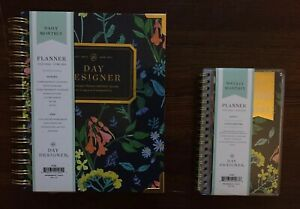 2 Blue Sky Day Designer Wildflowers Daily weekly monthly Planners 7 20 6 21