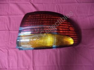 Nos Oem Pontiac Bonneville Tail Lamp Light Amber Red Lens 1996 1999 Right