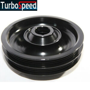 New Crank Pulley For B Series Only 88 00 Civic B 88 91 Crx 93 97 Del Sol Black