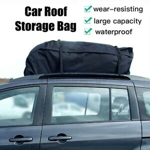 51 X40 X12 Car Roof Top Bag Travel Storage Waterproof Cargo Carrier Luggage