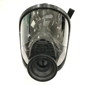 Msa Full Face Respirator Size M Silicone 4000 Piece Assembly Mask Gas