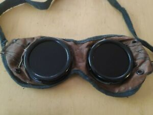 Vintage Welding Motorcycle Safety Googles