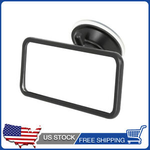 4 Inch Small Rear View Rearview Mirror Interior Mirror W Suction Cup