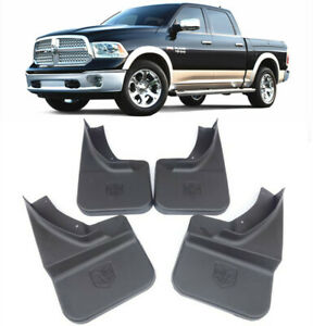 Genuine Oem Splash Guards Mud Flaps For 2009 2018 Dodge Ram With Fender Flares