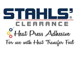 11 8 X 50 Yards Stahls Clearance Htv Adhesive For Use With Foils