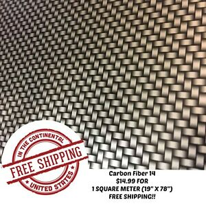 Hydrographic Water Transfer Hydro Dipping Dip Film Carbon Fiber 14 1sq 19 x78