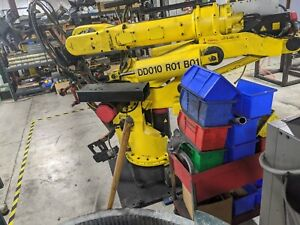 Fanuc S 420iw Arm W rj2 Controller And Pendant Complete System