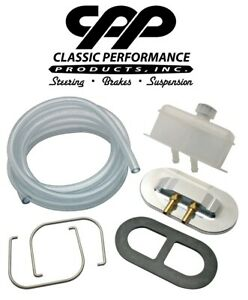 Classic Performance 55 59 Chevy Truck Master Cylinder Remote Fill Cap Kit