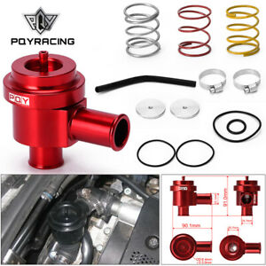 For Vw Audi 1 8t 2 7t Aluminum Blow Off Valve Turbo Bov Diverter Valve Kit Red