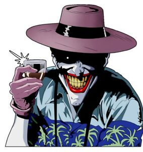 Joker Vacation Time 3 6 Vinyl Decal Stickers