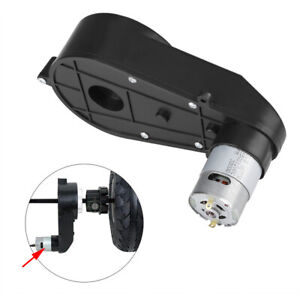 Gear Box Low Noise 12v 30000rpm Electric Motor Gearbox For Kids Car Toy New