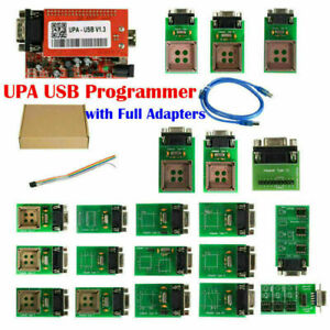 Upa Usb Programmer V1 3 Version With Full Adapters Support Nec Function