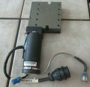 Aerotech Linear Stage Ats 302mm With 2831 mdxl200 6a Motor