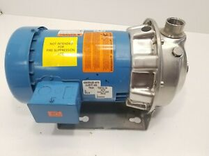 Goulds 1st1f5b4 Npe Series Stainless Steel Centrifugal Pump