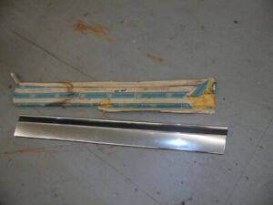 Nos Chevrolet 1971 Impala Lower Front Door Molding Rh 4 Dr 7