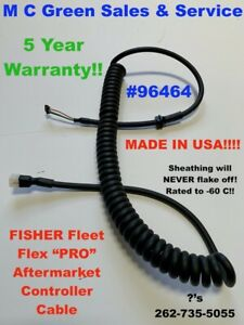 Fisher Fleet Flex Snow Plow 4 Pin Handheld Controller Super Hd Cable Cord 96464