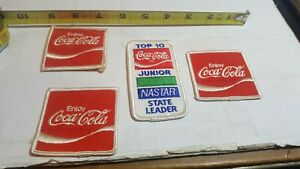 Lot Of  Vintage Coca Cola Patch Embroidered Employee Uniform 2 1/2