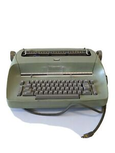 Vintage Ibm Selectric I Electric Typewriter Mint Green Tested
