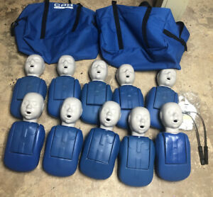 Cpr Prompt Infant Cpr Training Mannequins Dummies Lot Of 10 Used