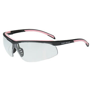 Radians T71 Pink black Clear Lens Safety Glasses Womens Shooting Z87 1