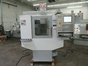 Haas Super Minimill Cnc Vertical Machining Center With Probing