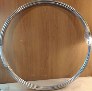 50 Of Stainless Steel 304 1 4 Tubing Coil 25 X 028 Fast Shipping
