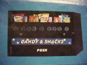 Nib Mechanical Tabletop Compact Snack Vending Machine 1 tier 9 item Pickup Only