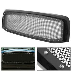 For Dodge Ram 1500 2500 3500 2006 2007 2008 Abs Front Hood Mesh Shell Grille