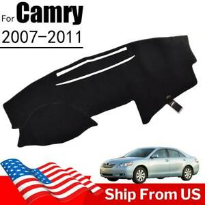 Xukey For Toyota Camry 2007 2011 2008 2009 Dashboard Cover Dash Mat Carpet Car