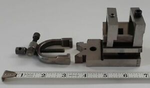 Vintage Pre owned Tool Maker s Starrett 567 V block And Clamp