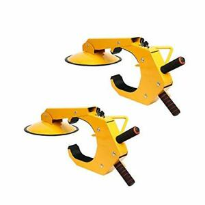 2 Pack Wheel Lock Clamp Boot Tire Claw Trailer Auto Car Truck Anti Theft Towing