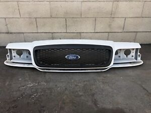 Ford Crown Victoria Header Panel And Honeycombe Grille