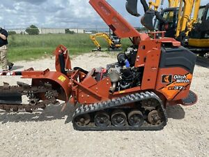 2017 Ditch Witch Trencher St37x Trincha Tf300 Sk755