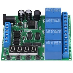 5x dc 4 channel Multifunction Delay Time Timer Relay Switch Module Assortment