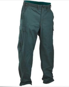 Fireline 9 Oz Ultra Soft Wildland Fire Pants Forest Green Small short Inseam